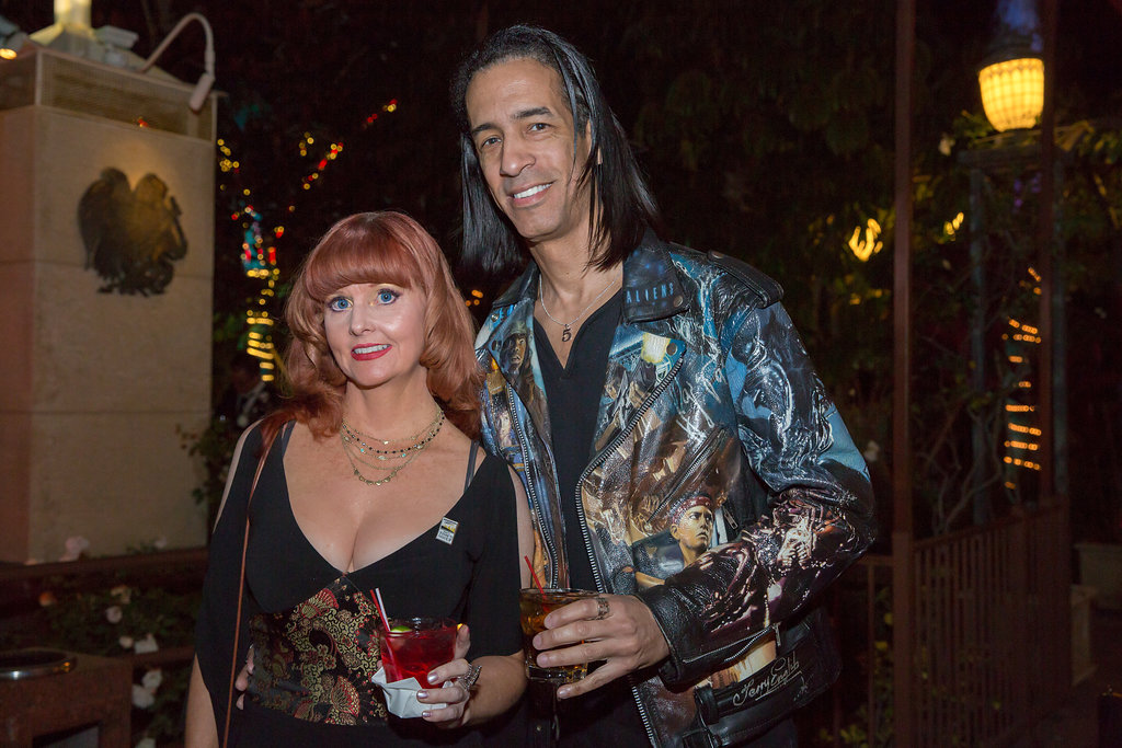 Staci Layne Wilson and Aaron Kai