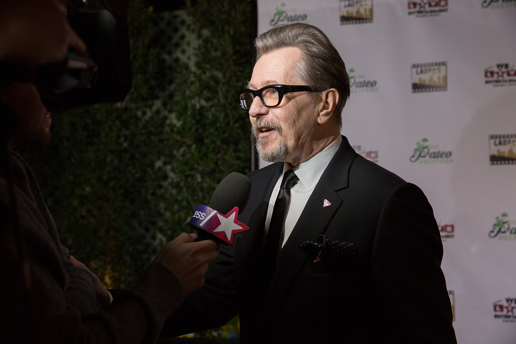 Gary Oldman Closeup Interview