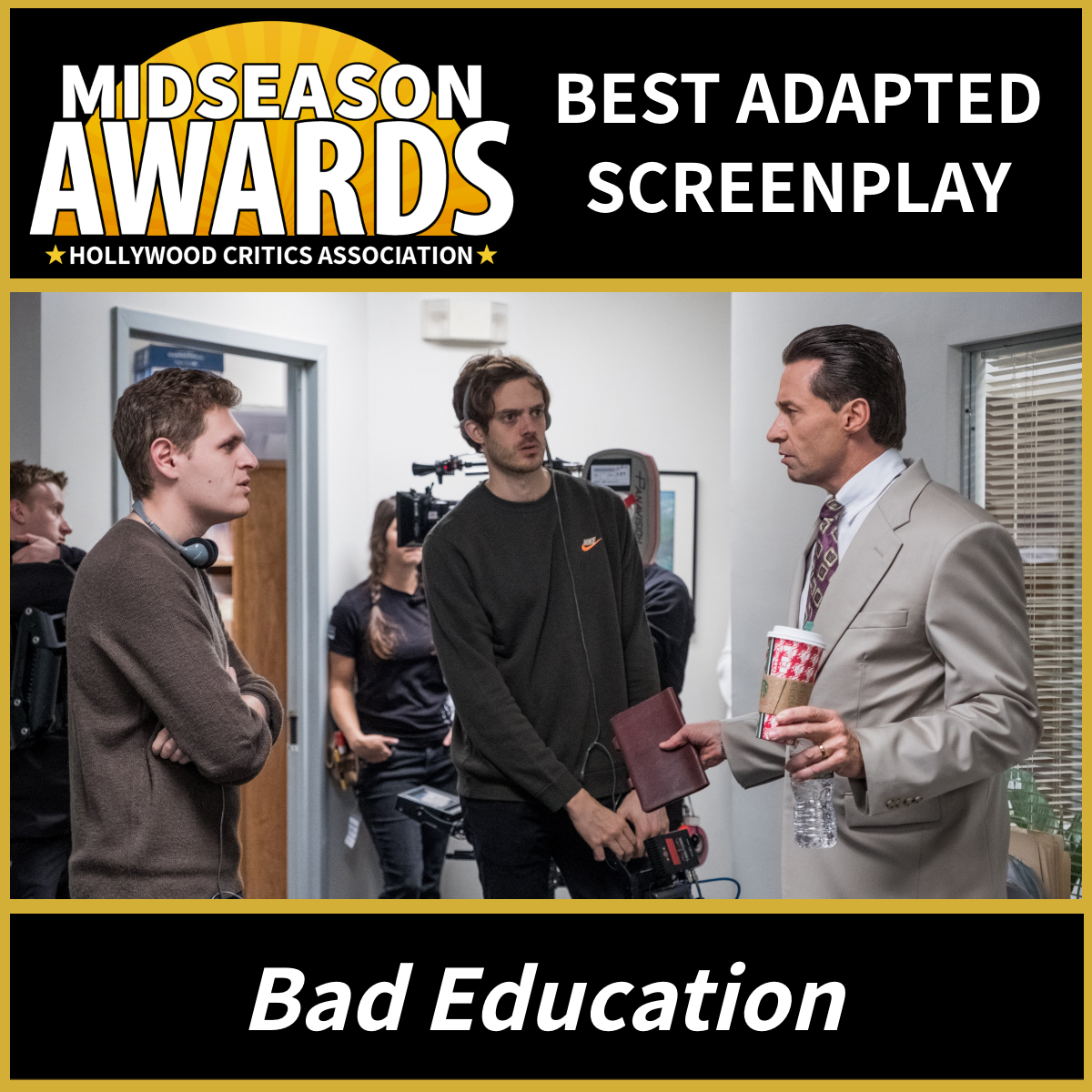 Bad Education - Best Adapted Screenplay