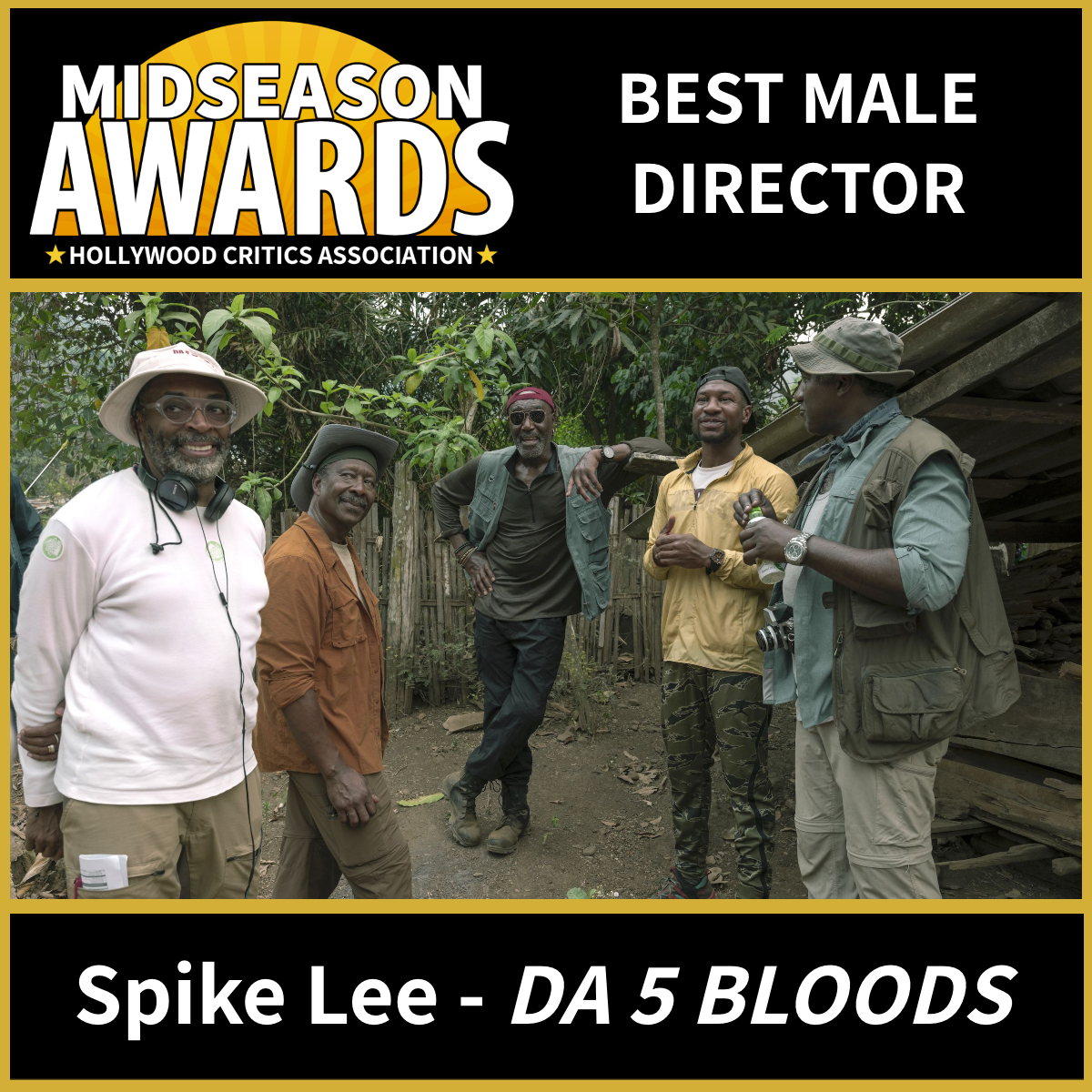 Best Male Director - Spike Lee for Da 5 Bloods