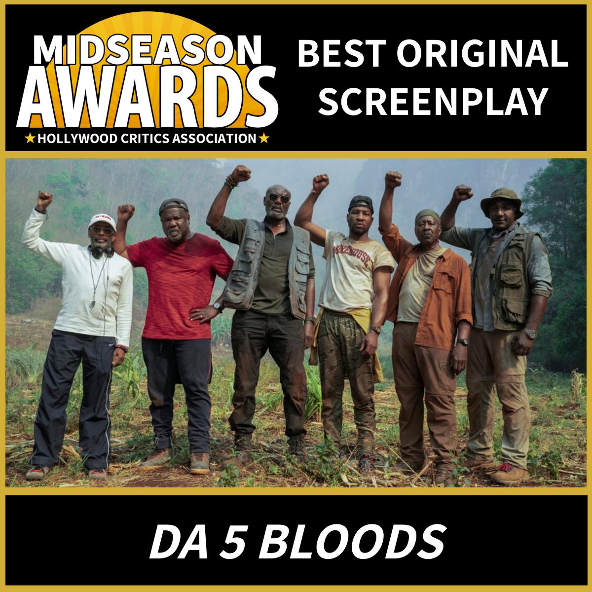 Da 5 Bloods Best Original Screenplay