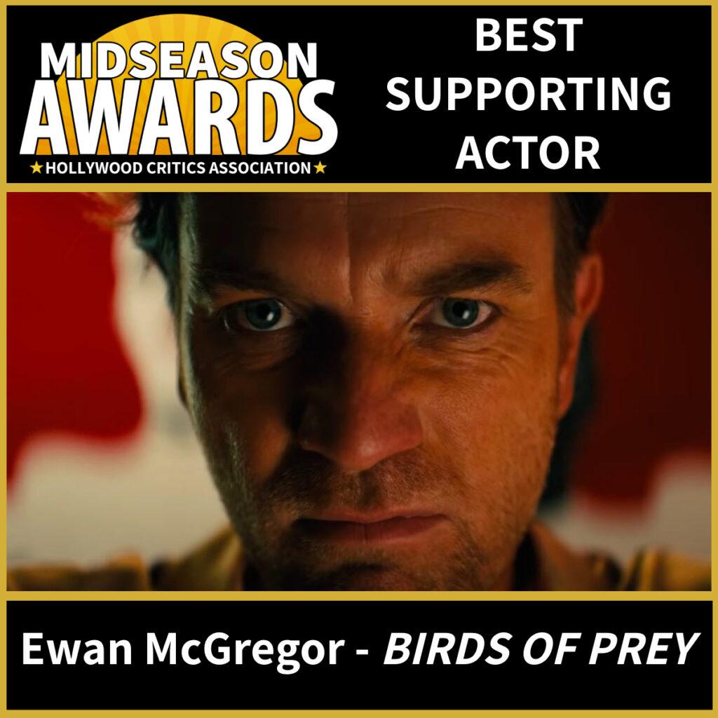 Ewan McGregor - Black Mask - Birds of Prey - Best Supporting Actor
