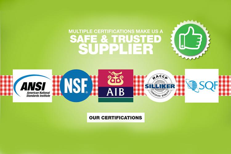 Nuestro Queso earns SQF Certification