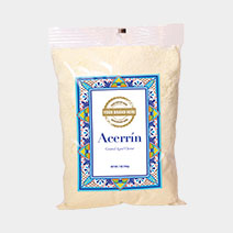 Acerrin Grated 7 oz. Clear Bag