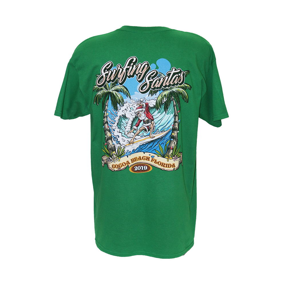 2019 Surfing Santas Men's T-shirt