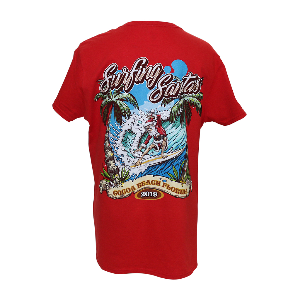 2019 Surfing Santas Women's Regular-fit T-shirt