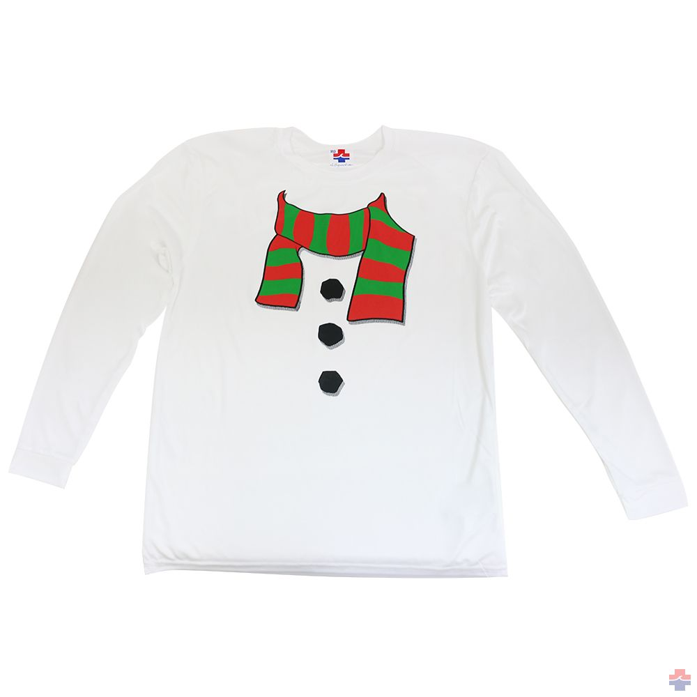 SNOWMAN LONG SLEEVE RASH SHIRT