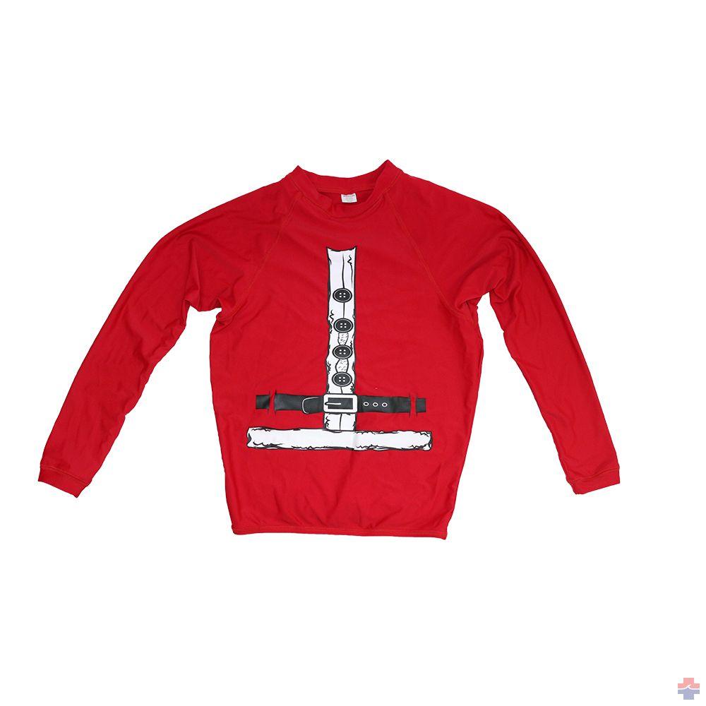 2019 Surfing Santa Rash Guard Shirt