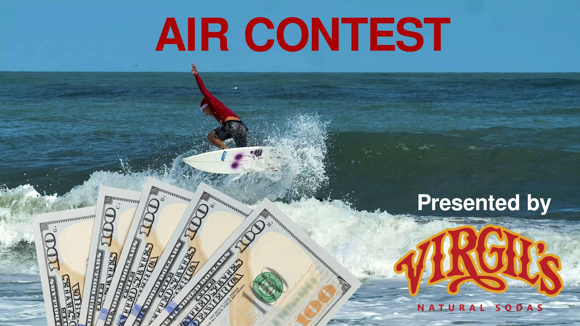 Surfing Santas Air Contest