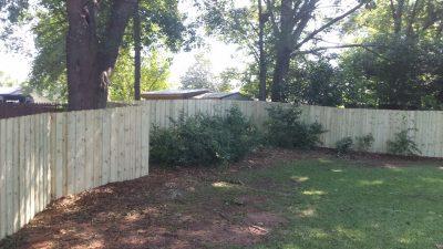 Wood Fencing Montgomery, AL