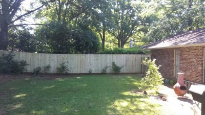 Privacy Fencing Montgomery, AL
