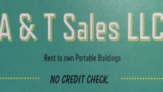 A & T Sales – Portable Buildings