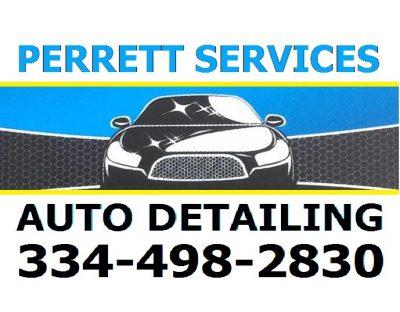 Perrett Services Auto Detailing Montgomery