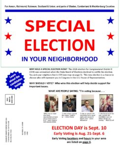 First page of the Special Election Guide