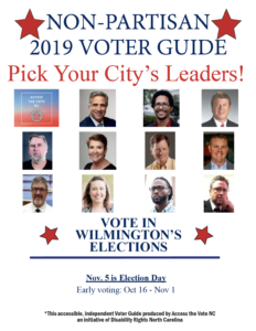 Wilmington Voter Guide Cover - English