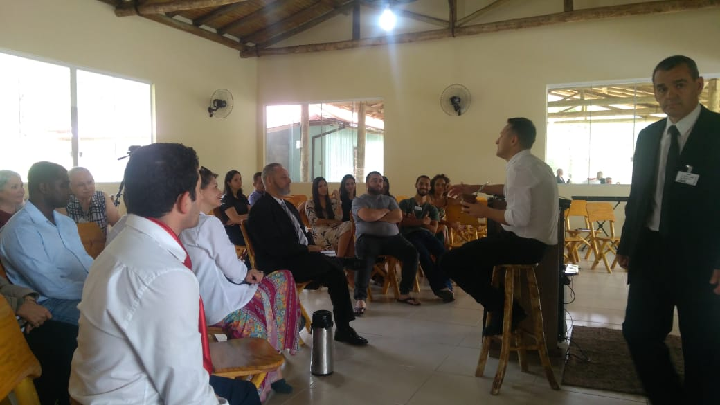 Testemunhos e Discursos na Primeira Conferência Mundial do Segundo Convite