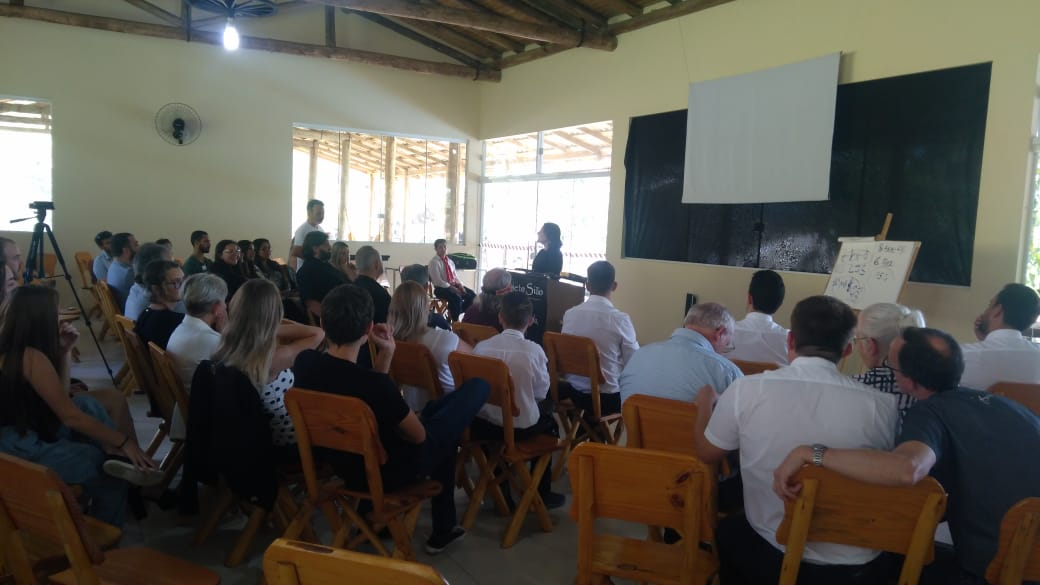 Fotos na Primeira Conferência Mundial do Segundo Convite no Brasil, 2019