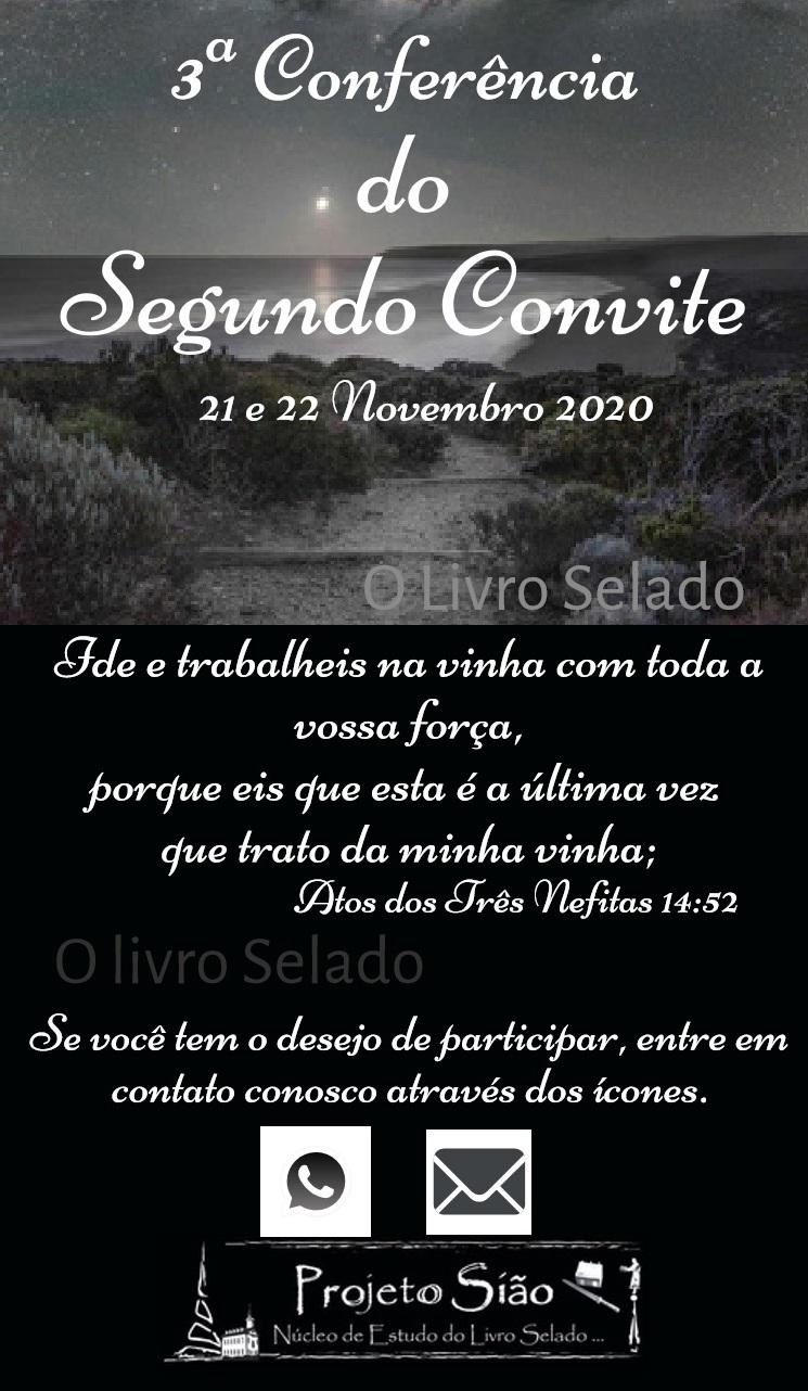 3ªConferência do Segundo Convite