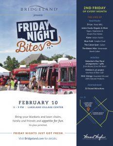 Bridgeland Presents Friday Night Bites