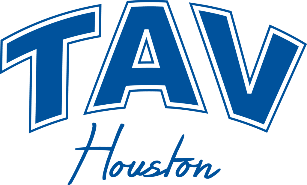 TAV Houston logo