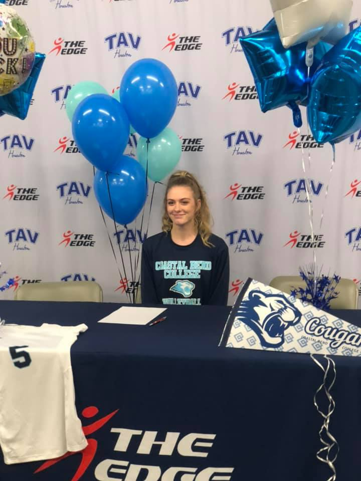 Ava Johnson - Coastal Bend College to Jacksonville University
