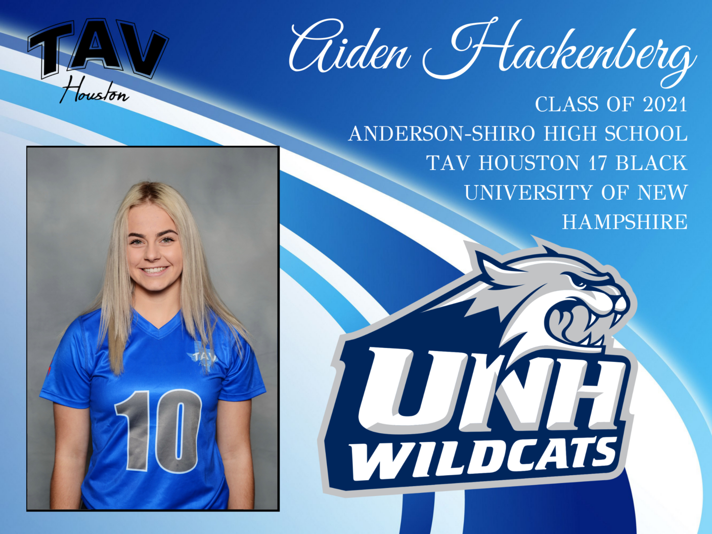 Aiden Hackenburg - Univ. of New Hampshire