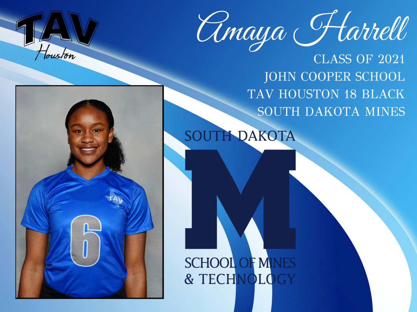 Amaya Harrell - S. Dakota School of Mines