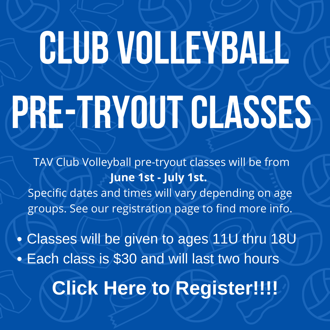 Pre-Tryout Classes For Website