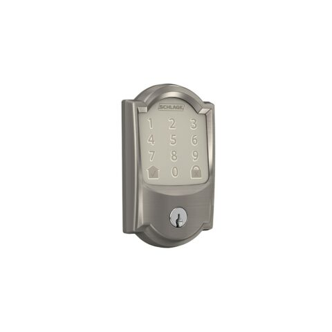 Schlage Encode Camelot Satin Nickel