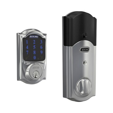 Schlage Connect Bright Chrome
