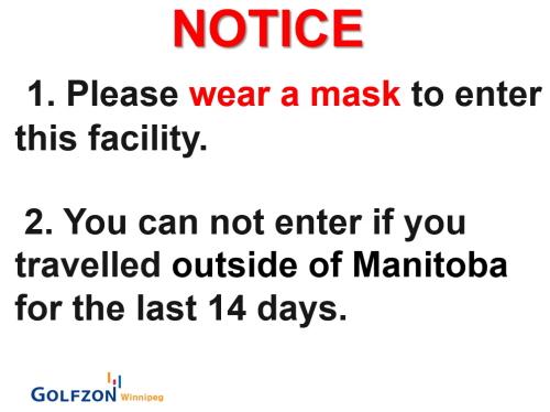 Wear a mask always