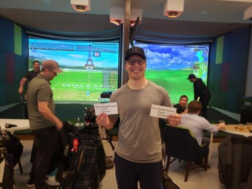 Third (Golfzon Gift card $80)