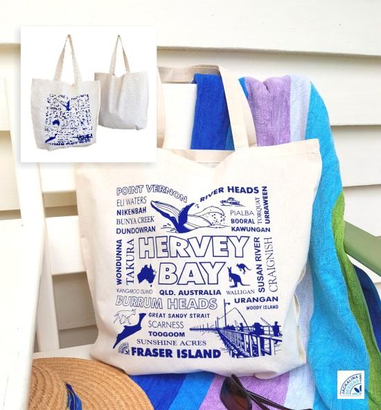 Hervey Bay Souvenir Tote Bag