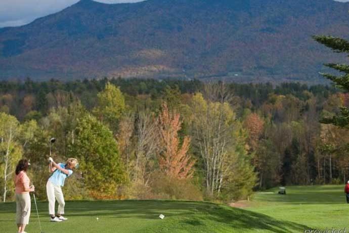 Golf in Washington Valley, N.H.