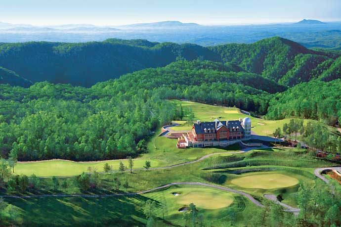 Va.'s Primland Golf Resort