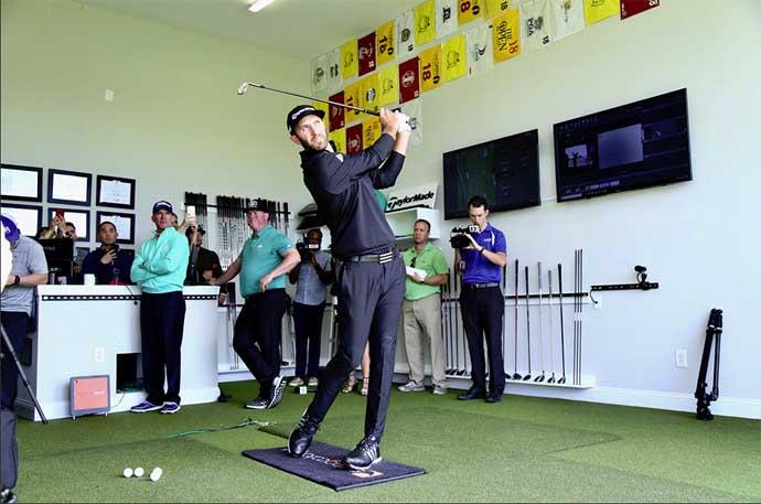 Dustin Johnson's Hi-tech Myrtle Beach Golf School