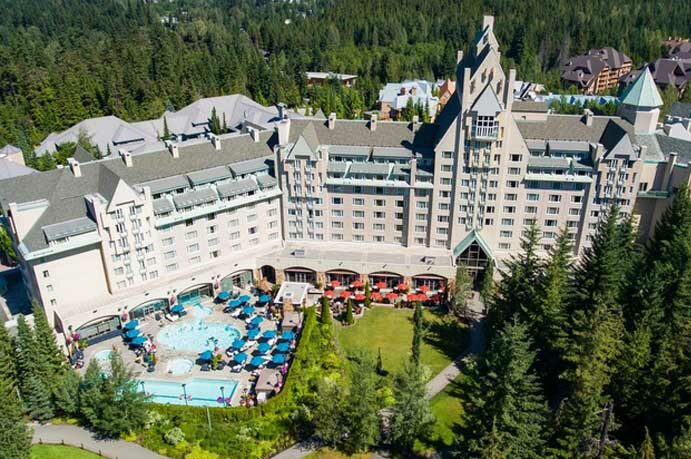 Fairmont Chateau  Whistler a Gem