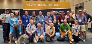 Golf Travel Writers members at PGA Merchandise Show