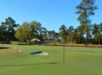 Santee's Palmetto Traverse Putting Course