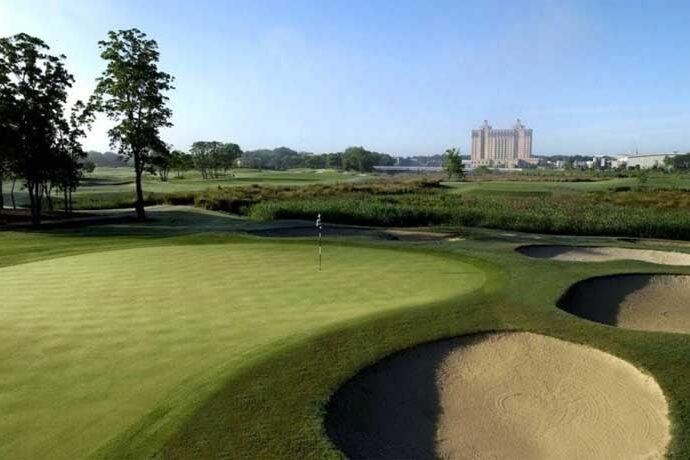Westin Savannah Harbor Unlimited Golf Package