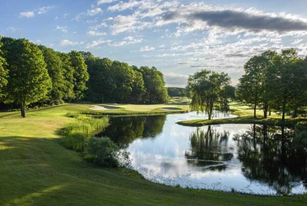 Southern PInes was designed by Donald Ross who designed this hole at Boyne Highlands