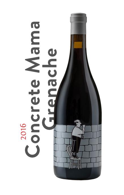 ! the wines 16 concrete mama grenache