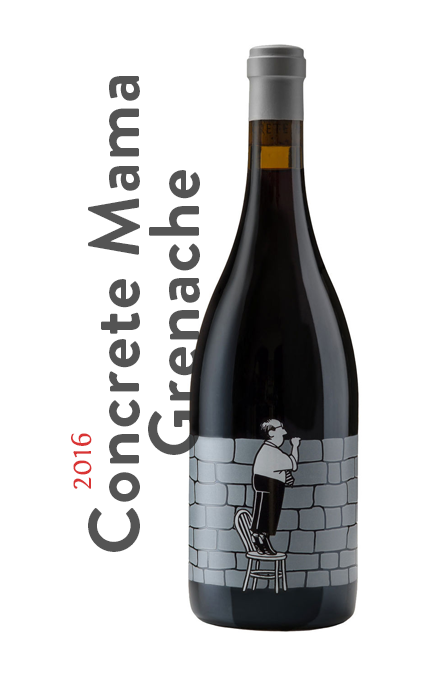 ! the wines 16 concrete mama grenache