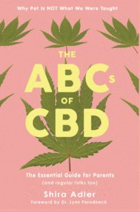 'The ABCs of CBD' Book Jacket, Front