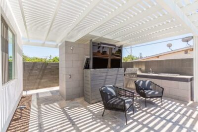 Patio Large Screen TV