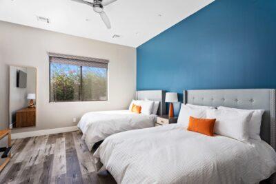 Bedroom 3 - 2 Doubles
