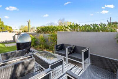 Front patio - Bedroom 2 Access