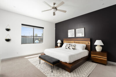 Main Floor Master Bedroom - King