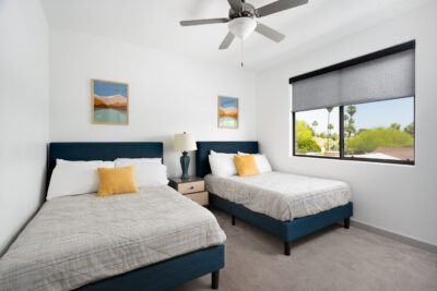 Upstairs Bedroom - 2 Doubles