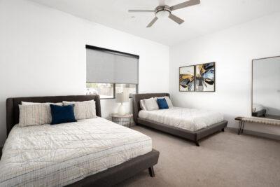 Main Floor Bedroom - 2 Queens